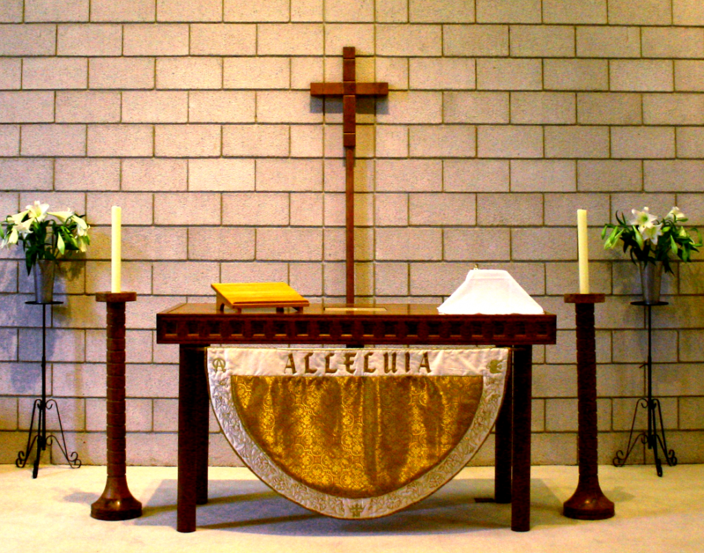 Chapel of St. Titus, Easter Altar