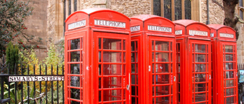 Market Square Telephone Boxes